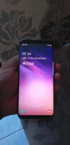 Vende-se troca um S8 sem marca de uso Whatsapp *