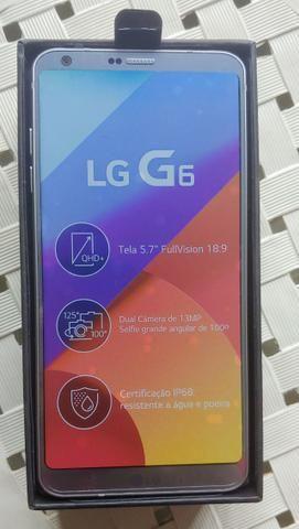 LG G6 Platinum - Novo + Nota Fiscal