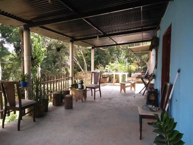 Terreno 400 m2 com casa no Bairro Ressaca. 8 Km do centro de Embu Das Artes - Foto 11