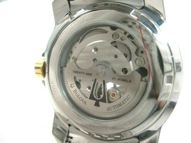 Relógio Bulova Automático Modelo 98A101 Masculino - Foto 4