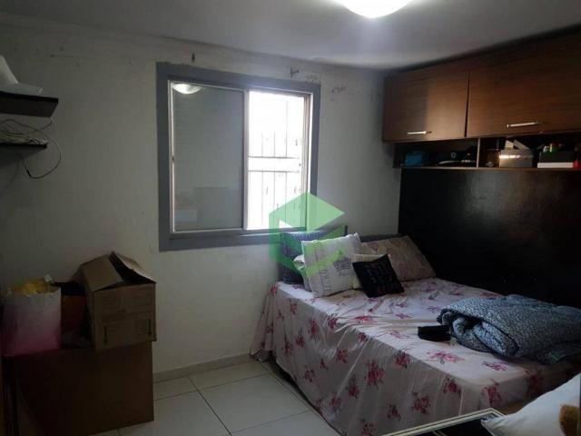 Apartamento com 2 dormitórios à venda, 53 m² por R$ 112.000 - Santa Terezinha - São Bernar - Foto 2