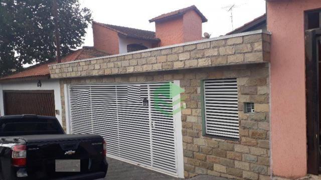 Casa com 3 dormitórios à venda, 140 m² por R$ 630.000 - Conjunto Residencial Pombeva - São
