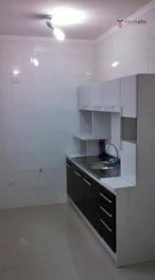 Apartamento com 2 dormitórios para alugar, 40 m² por R$ 1200/mês - Vila Floresta - Santo A - Foto 6