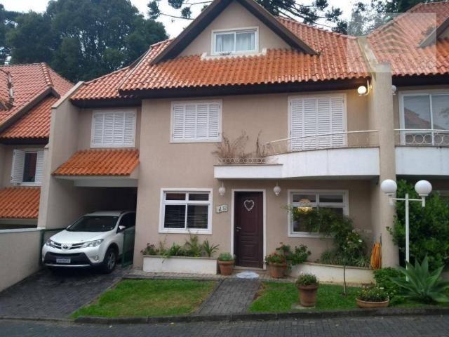 Sobrado com 3 dormitórios à venda, 160 m² por r$ 775.000,00 - bom retiro - curitiba/pr