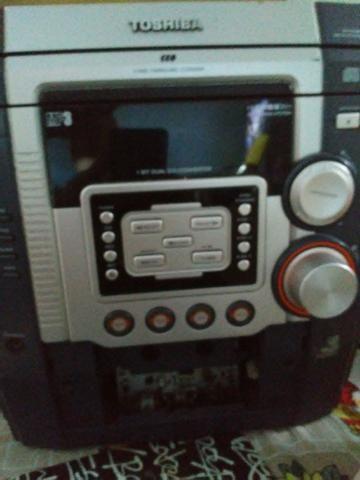 Som Semp Toshiba / carrossel 3 cds / 1 caixa de som / funcionando - Foto 2