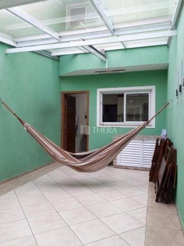 Sobrado com 3 dormitórios à venda, 137 m² por r$ 649.000,00 - vila helena - santo andré/sp - Foto 3