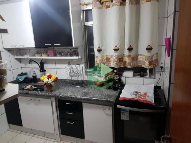 Apartamento com 2 dormitórios à venda, 53 m² por R$ 112.000 - Santa Terezinha - São Bernar - Foto 4