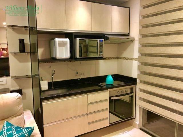Studio com 1 dormitório para alugar, 36 m² por r$ 1.950/mês - vila augusta - guarulhos/sp - Foto 2