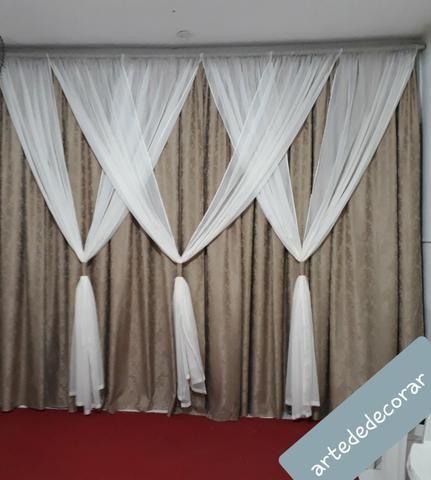 Fabricação de cortinas