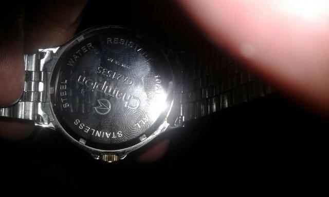 Vendo relógio Champion - Foto 3