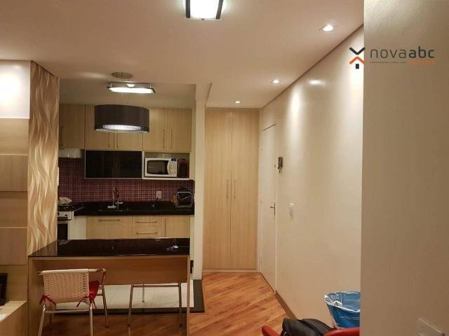 Apartamento com 2 dormitórios para alugar, 50 m² por R$ 1.350/mês - Parque Erasmo Assunção - Foto 10