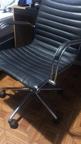 Cadeira escritório presidente giratória - Foto 3
