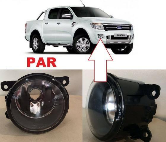 Par Faróis de Milha Neblina Ford Ranger Fusion Focus 2012 à 2015 Lentes de Vidro