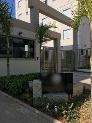 Apartamento com 2 dormitórios para alugar, 50 m² por R$ 1.000/mês - Utinga - Santo André/S