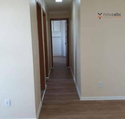 Apartamento com 2 dormitórios para alugar, 50 m² por R$ 1.000/mês - Utinga - Santo André/S - Foto 6