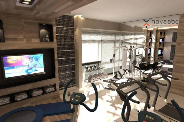 Apartamento com 2 dormitórios e varanda gourmet para alugar, 70 m² em condomínio completo  - Foto 17