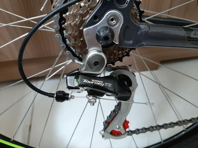 Bicicleta Caloi 29 Suspensão c/Trava Freio a Disco (Lacrada) Nota Fiscal - Foto 2