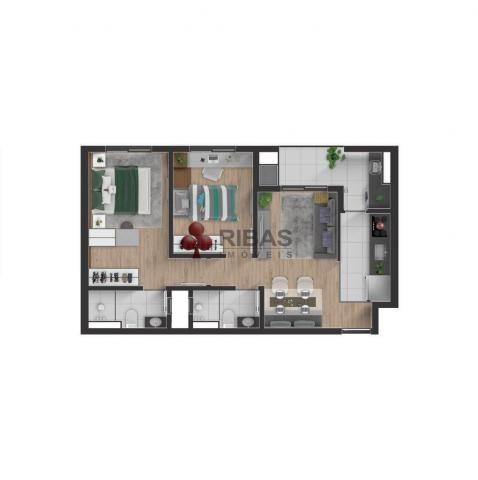 Apartamento à venda com 2 dormitórios em Boa vista, Curitiba cod:15427 - Foto 11