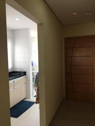 Apartamento com 2 dormitórios para alugar, 63 m² por R$ 2.100/mês - Campestre - Santo Andr - Foto 7