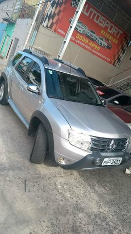 Duster 2015 com gás financiamos - Foto 3