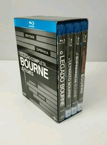 Box Coleção Blu-ray 4 filmes BOURNE