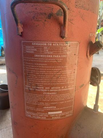 Máquina de solda oxi acetialeno - Foto 3