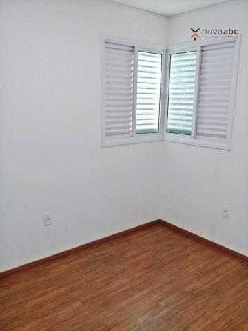 Apartamento com 3 dormitórios para alugar, 85 m² por R$ 2.500/mês - Jardim - Santo André/S - Foto 7