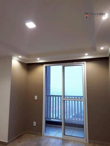 Apartamento com 2 dormitórios para alugar, 46 m² por R$ 900/mês - Vila João Ramalho - Sant - Foto 5