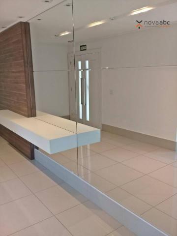 Apartamento com 3 dormitórios para alugar, 85 m² por R$ 2.500/mês - Jardim - Santo André/S - Foto 19