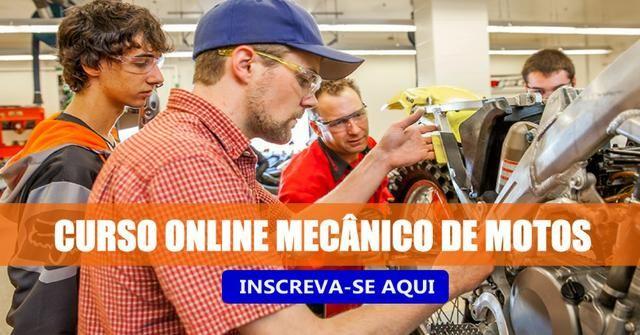 Curso Online Mecânico de Moto Completo