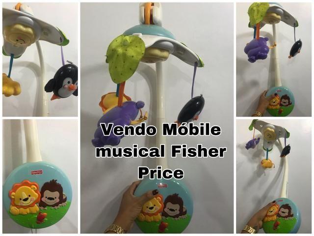 Móbile Musical Fisher Price