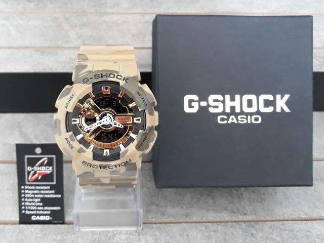 Relógio G Shock Casio Estilo Militar Novo