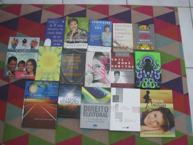 Livros usados R$5,00 cada