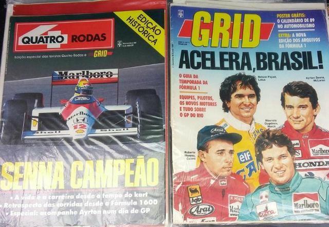 022550e1b2eb Revista Grid - Coleção para amantes da Fórmula 1 - Livros e revistas ...