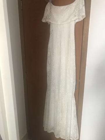 e221b61114f0 Vestido branco renda sereia - Roupas e calçados - St Bela Vista ...