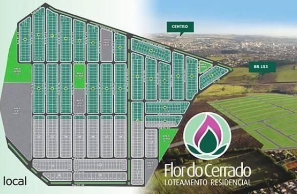 Lotes a prestação no Flor do Cerrado em Anápolis-GO com Entrada Facilitada em ate 12X