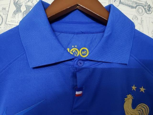 Camisa França Comemorativa 100 Anos - Foto 6