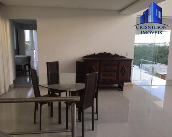 Casa à venda alphaville ii, salvador, r$ 1.650.000,00, armários, 4 suítes, espaço gourmet, - Foto 15