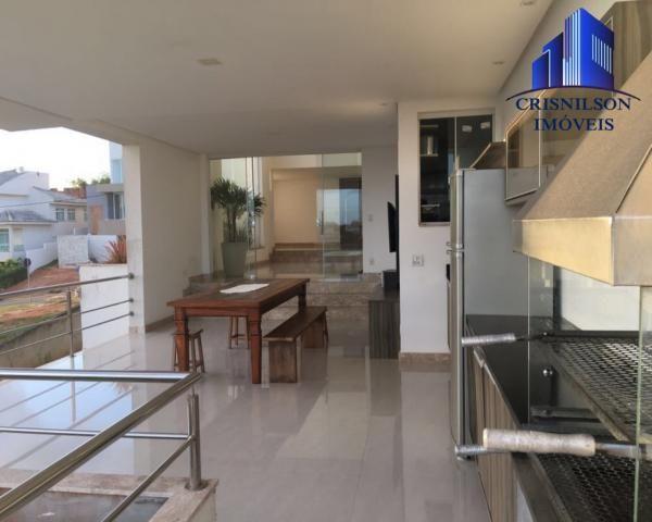 Casa à venda alphaville ii, salvador, r$ 1.650.000,00, armários, 4 suítes, espaço gourmet, - Foto 5