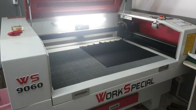 Maquina de corte a laser cnc - Foto 2