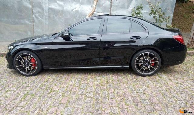 Mercedes C43 AMG - Aut.V6,  Bi-Turbo, Teto, 9.000Km - R$315.000,00 - Foto 3