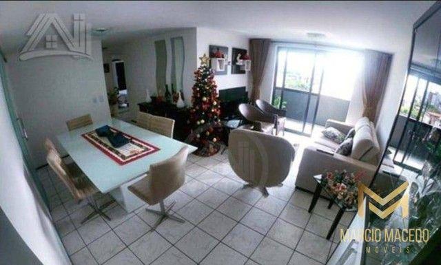 Aptº com 3 dormitórios à venda, 105 m² por R$ 550.000 - Fátima - Fortaleza/CE - Foto 3