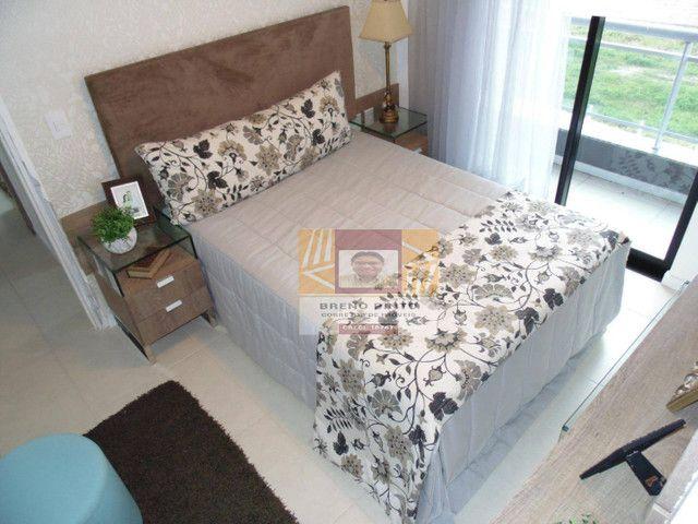 Apartamento com 2 dormitórios à venda, 72 m² por R$ 419.000,00 - Guararapes - Fortaleza/CE - Foto 9
