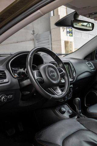 Jeep Compass 2018 longitude diesel 4x4 com pacote premium IPVA 2021 PAGO - Foto 7