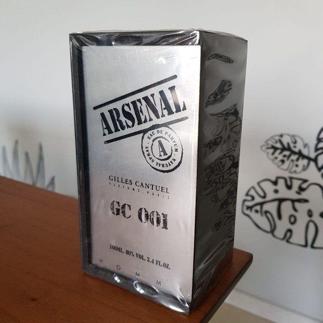 Perfume Arsenal Gc 001 100ml Gilles Cantuel - Foto 3