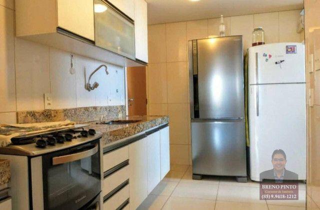 Apartamento no Villa Sonata com 3 dormitórios à venda, 124 m² por R$ 850.000 - Aldeota - F - Foto 5