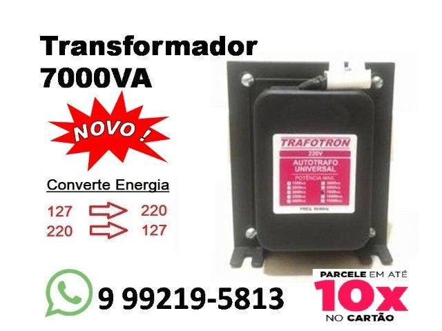 Transformador 7000VA Novo Entregamos em Toda Campo Grande