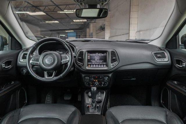 Jeep Compass 2018 longitude diesel 4x4 com pacote premium IPVA 2021 PAGO - Foto 8