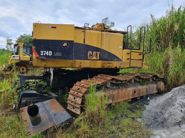 Escavadeira Hidraulica Caterpillar 374D  - Foto 3