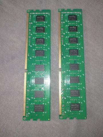 2 Memória Ram 2gb ddr3 1333mhz